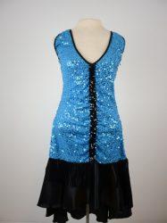 turquoise flapper dress sizes s,m,l,xl, 2x