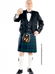 Black Watch Tartan - Scottish Formal Wear