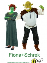 Shrek & Fiona 2