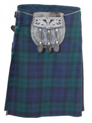 Black watch kilt and 6 tassle sporran