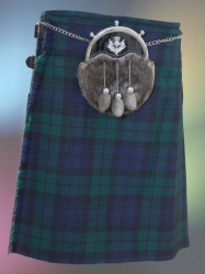 Black Watch Kilt, Thistle Sporran