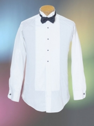 wig tip shirt and bow tie
