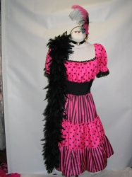 Pink Saloon Dress