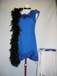 Blue Saloon Dress