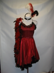 Red Saloon Dress
