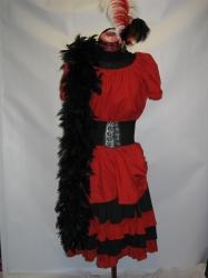 Red Saloon Dress