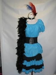 Blue Saloon Dress